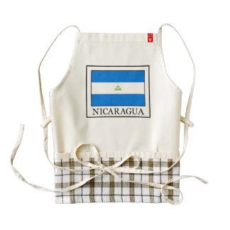 Nicaragua Zazzle HEART Apron