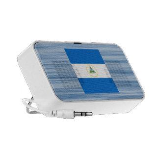 Nicaraguan Flag Floating on water Speakers