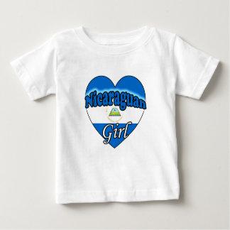 Nicaraguan Girl Baby T-Shirt