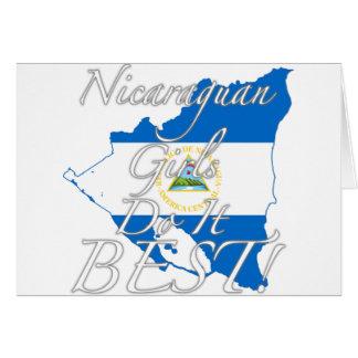 Nicaraguan Girls Do It Best! Card