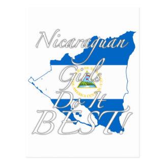 Nicaraguan Girls Do It Best! Postcard