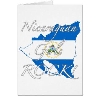 Nicaraguan Girls Rock! Card