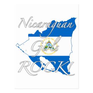 Nicaraguan Girls Rock! Postcard