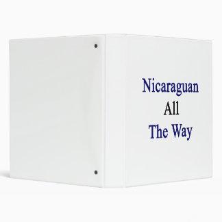 Nicaraguan hasta el final