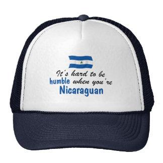 Nicaraguan humilde gorras