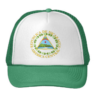 Nicaraguan irlandés gorra