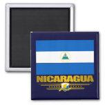 """Nicaraguan Pride"" 2 Inch Square Magnet"