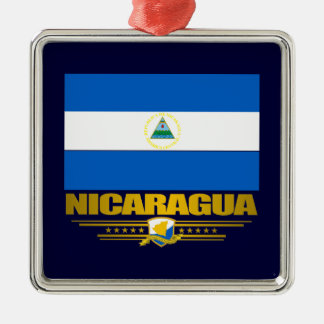 """""""Nicaraguan Pride"""" Metal Ornament"""