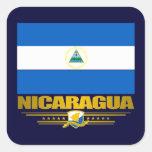 """Nicaraguan Pride"" Square Sticker"