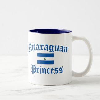 Nicaraguan Princess Two-Tone Coffee Mug