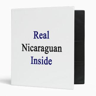 Nicaraguan real dentro