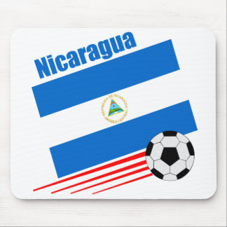 Nicaraguan Soccer Team Mouse Pad
