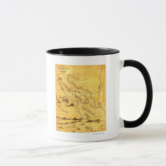 NicaraguaPanoramic MapNicaragua Mug