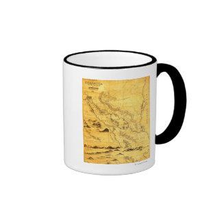NicaraguaPanoramic MapNicaragua Mugs