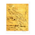 NicaraguaPanoramic MapNicaragua Postcard