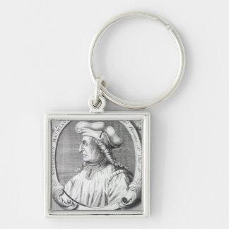 Niccolo Machiavelli, 1724 Keychain