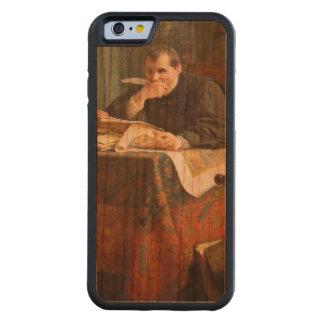 Niccolò Machiavelli en su estudio, por Stephano Funda De iPhone 6 Bumper Cerezo