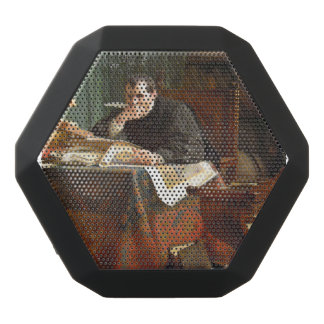 Niccolò Machiavelli in his study, by Stephano Ussi Black Bluetooth Speaker