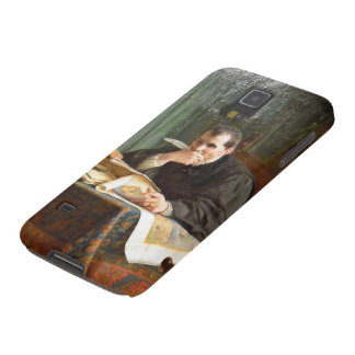 Niccolò Machiavelli in his study, by Stephano Ussi Galaxy S5 Cover