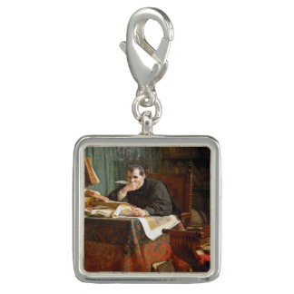 Niccolò Machiavelli in his study, by Stephano Ussi Photo Charms