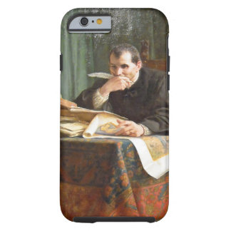 Niccolò Machiavelli in his study, by Stephano Ussi Tough iPhone 6 Case