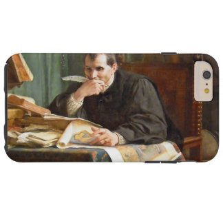 Niccolò Machiavelli in his study, by Stephano Ussi Tough iPhone 6 Plus Case