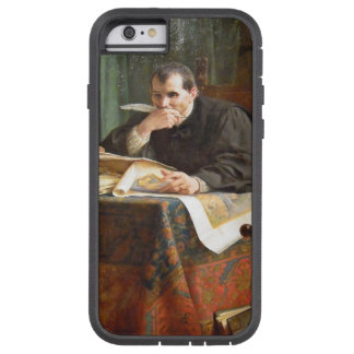 Niccolò Machiavelli in his study, by Stephano Ussi Tough Xtreme iPhone 6 Case