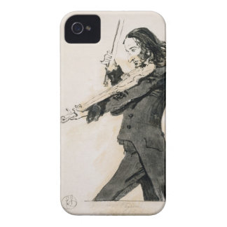 Niccolo Paganini (1782-1840) Playing the Violin, 1 iPhone 4 Case