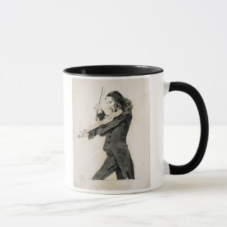Niccolo Paganini (1782-1840) Playing the Violin, 1 Mug