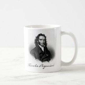 Niccolò Paganini Classic White Coffee Mug