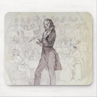 Niccolo Paganini , violinist Mouse Pad