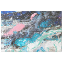 Nice abstract sea water salmonish gift wrap tissue paper
