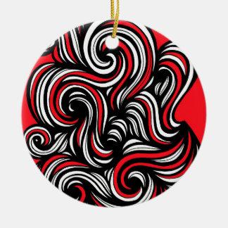 Nice Admire Amusing Absolutely Ceramic Ornament