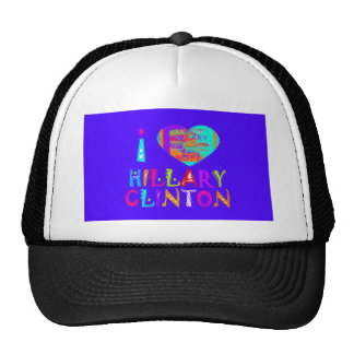 Nice and lovey Amazing Hope Hillary for USA Colors Trucker Hat