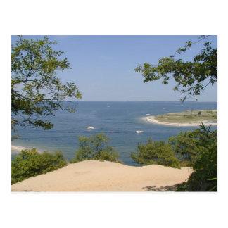 Nice and peacefull beach postcard