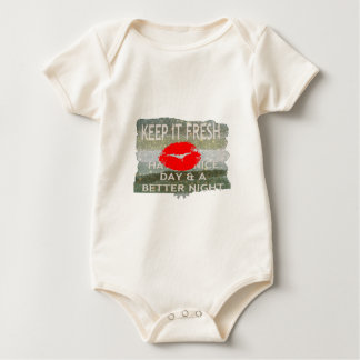 Nice and perfect save the date baby bodysuit