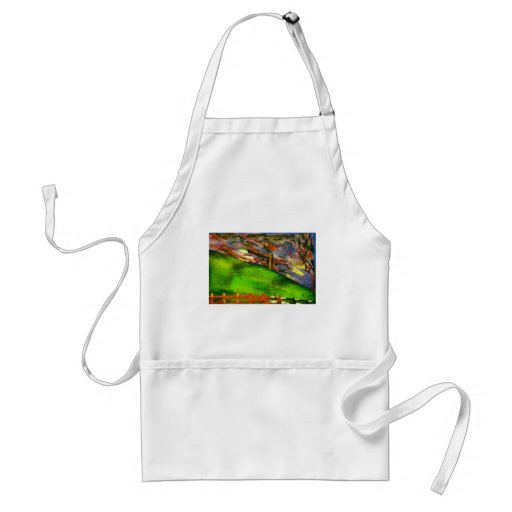 nice and windy night apron