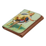 Nice Archery Shot - Retro Pin Up Girl Wallet