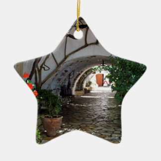 nice archway ceramic ornament