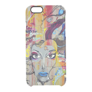Nice Art Image Clear iPhone 6/6S Case