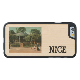 Nice Bandstand 1908 Carved® Maple iPhone 6 Case