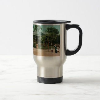 Nice Bandstand 1908 Travel Mug