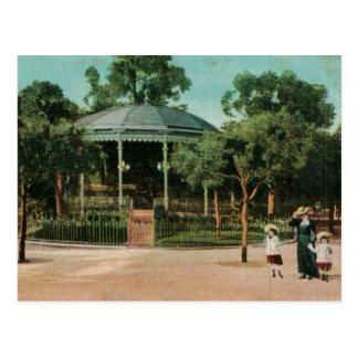 Nice Bandstand France 1908 Replica Vintage Postcard