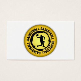 Nice Basketball Seal Business Card