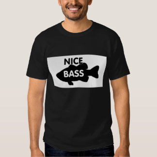 Nice bass (black) shirt