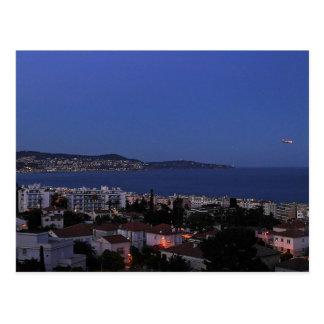 Nice Bay France Postcard