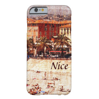 Nice beach, Provence i-phone case Barely There iPhone 6 Case
