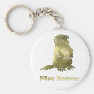 nice beaver keychains