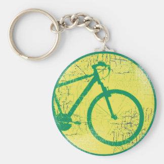 nice bicycle . biking . bike-themed keychain