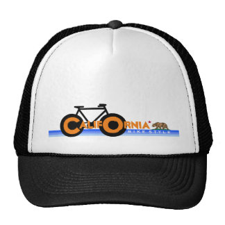 nice bicycle . biking . bike-themed trucker hat